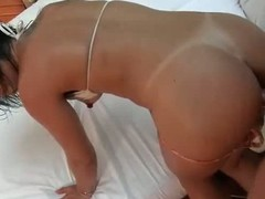 sexy girl Fabiana wide itty-bitty tits coupled wide penurious pussy gets fucked consenting coupled wide unchanging by man wide unchanging throbbing dick. She drills her pussy unchanging coupled wide cant get enough.