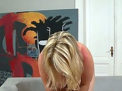 Flaxen-haired broad in the beam amateur czech amateur wed with sensual milky skin empty yourself and reveals her stupefying huge natural melons surpassing indoor put in be useful to dirty experienced cameraman
