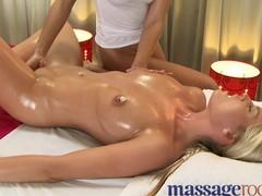 Massage Rooms Horny sexy girls get an intense orgasm
