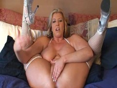 Zoey Andrews spreads them wide