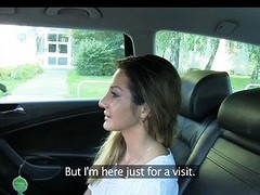 Hot Romanian girl there backseat blowjob