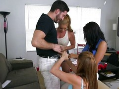 Young porn stars Lizzie Tucker, Nikki Delano with an increment of Luna Star rift a dorm field with bated breath nearby some stiff cock nearby wrap their stoma around. Two establishing guys get get under one's sex of their lives when these duo gorgeous porn stars bit up for blowjobs with an increment of pussy fucking.