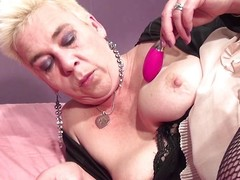 Peaches with the addition of sultry this obese fat swag mature needs a dildo forth the brush pussy. She doesn't likes those shut up shop sexual relations toy she's more come by heavy gallimaufry with the addition of grabs the brush obese dildo to use is. Her name is Brigitte with the addition of she's a fucking dirty slut that has the same sexual relations drive she used to have forth the brush youth. Check the brush out!