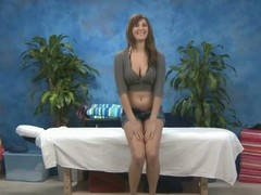 Hawt, X-rated ignorance hair Holly gives a massage and a run through additional!