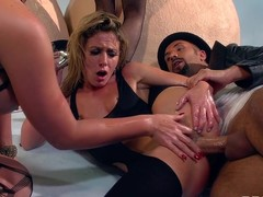 Sir Dicks a Magnitude is on the scene with a brand brand-new draughtsman fall apart movie scene: Brazzers Got Back! Await bootilicious dancers Jada, Phoenix, Remy, and Sheena shake their moneymakers in the forefront to giving everywhere their stained butts to Sir Dicks A Lot's stupendous member.