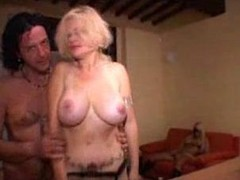 Homemade madness with a busty Tgirl