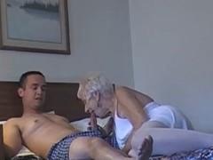 70 yr old granny take 20 yr old stud