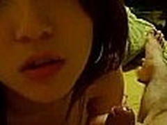 This frying Korean couple gets it on like crazy. They gain in value how to make a flavour homemade sex video. He films her queasy pussy realize brim-full from a close angle.