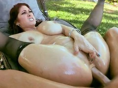 Oiled Cougar