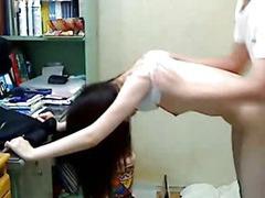 Korean Sister Enjoyment from The brush Sibling 01