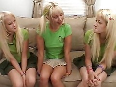 Hot Marissa, Wild Melissa and Ashley - Surprise!
