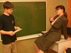 Russian teacher and wretch