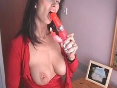 British MILF fucks yourselves everywhere a pair be useful to high heeled quake