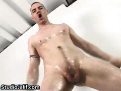 Javier Alcazar jerking his massive gay part1