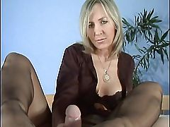 Slow Handjob &, Footjob 3
