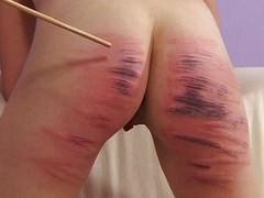 Girls trying something new, spanking