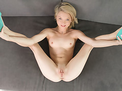 Petite blond gets fucked
