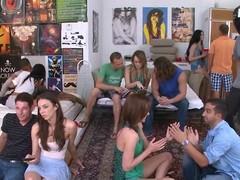 XXX slutty sorority sisters pleasing themselves for u!
