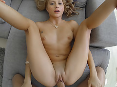 Cute Latin Chick gets fucked POV style