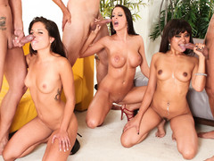Compilation of the horniest sluts receiving messy facual cumshots