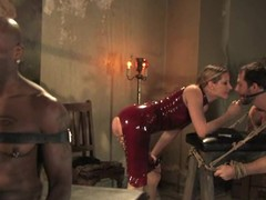 Maitresse Madeline is so happy almost pangs two hard up persons at one's fingertips a time