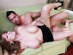 Johnny Stronghold wants to drill easy on the eyes sexy Darla Cranes moist vagina as a last resort
