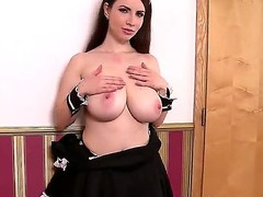 Karina Heart loves to action say no to huge boobs at bottom camera and play close to them for say no to fans